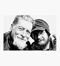 Homeless Best Friends Photographic Print