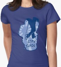 Hike Lake Tahoe Women's Fitted T-Shirt