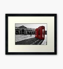 The Red Box Framed Print