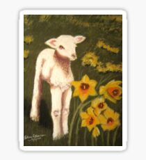 Little Lamb who made thee? Sticker