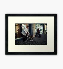 Unrelenting Framed Print