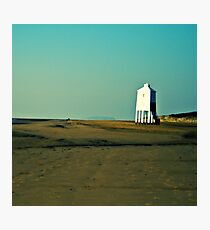 Low lighthouse, Bridgewater, Somerset Photographic Print