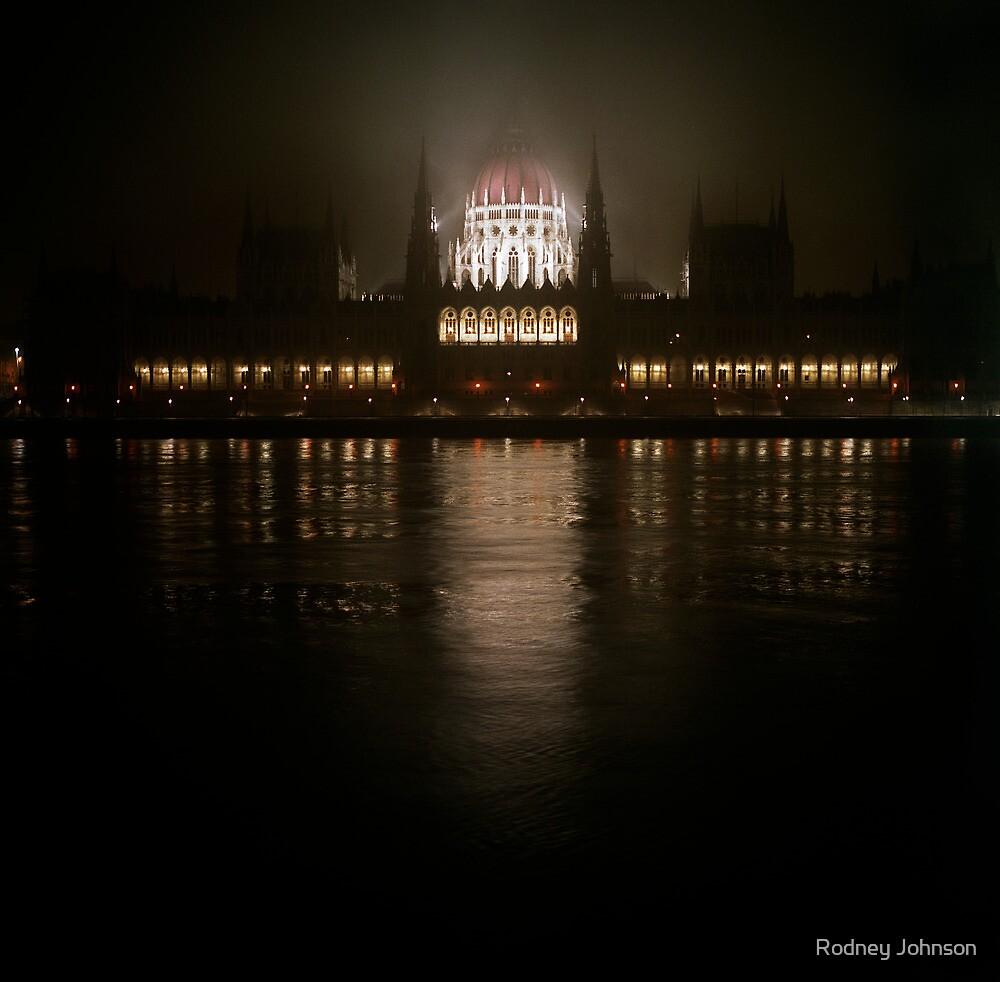 Parliament Building (Országház), Budapest by Rodney Johnson
