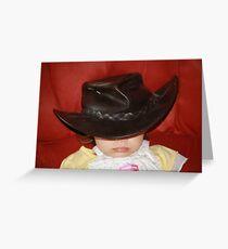 Grandma's Hat Greeting Card