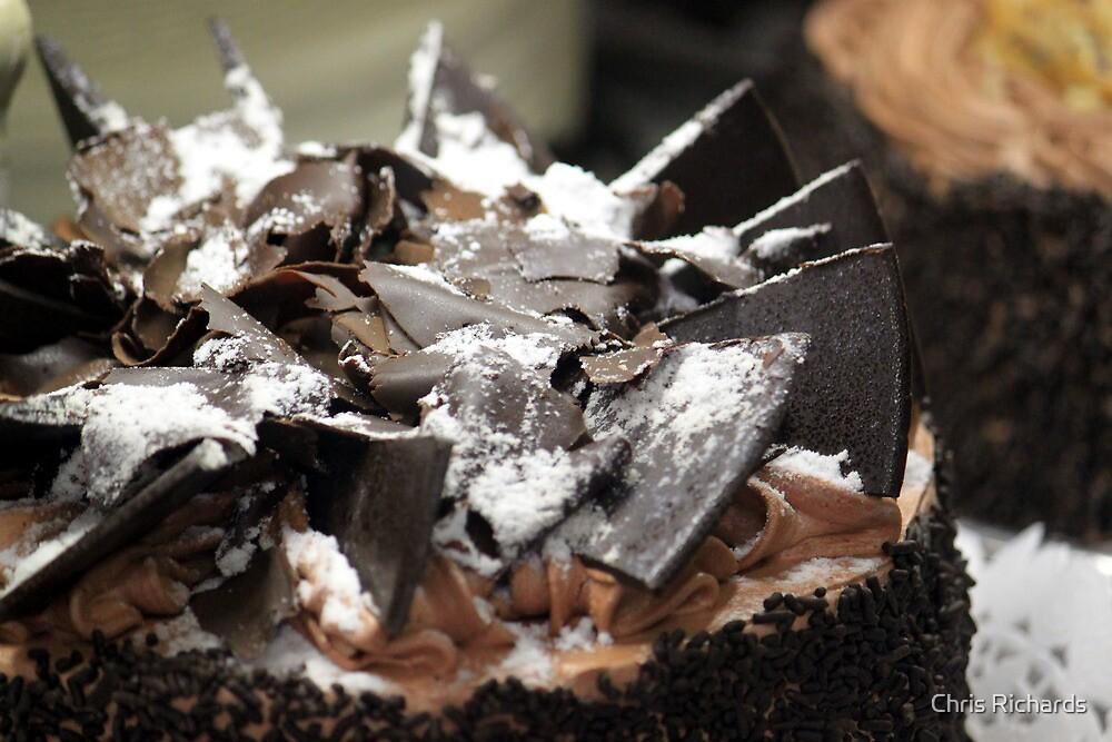 Chocolate Cake by Chris Richards