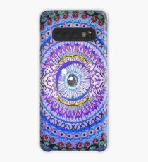 Ajna (Third Eye) Chakra Meditation Mandala Original Hand Painted Case/Skin for Samsung Galaxy