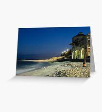 Tea Rooms ~ Cottesloe Beach  Greeting Card
