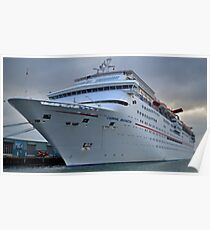 Imagination- Carnival Cruise Ship Poster