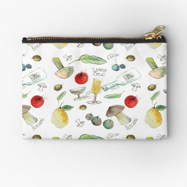 Tuscan flavours Zipper Pouch