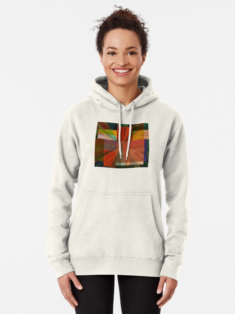 Alternate view of Union Squares Rainbow Nation FIVE Pullover Hoodie