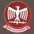 Marine Fighting Squadron 441 Emblem by warbirdwear