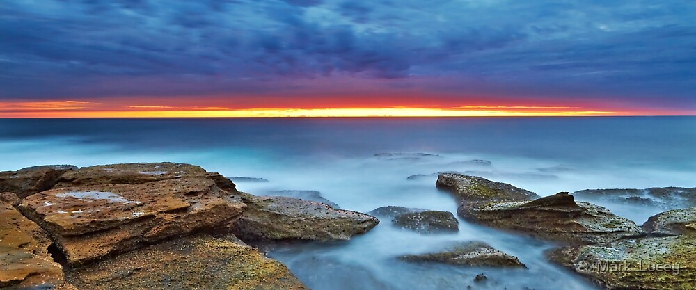 Silky Dawn by Mark  Lucey