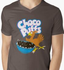 Coo Coo for Choco Puffs- Final Fantasy Spoof  Men's V-Neck T-Shirt