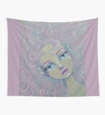Mermaid Hair Don't Care Wall Tapestry