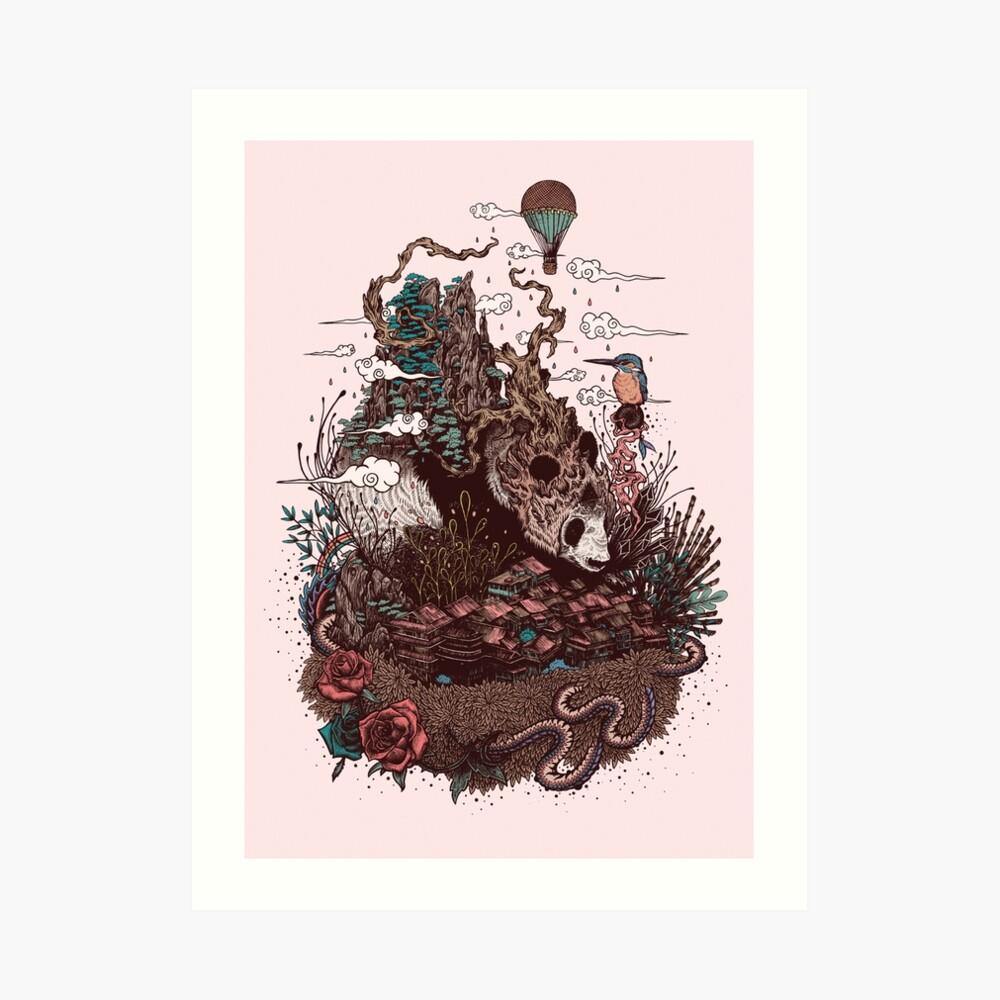 Land of the Sleeping Giant Art Print