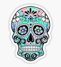 Sugar Skull Hologram Sticker