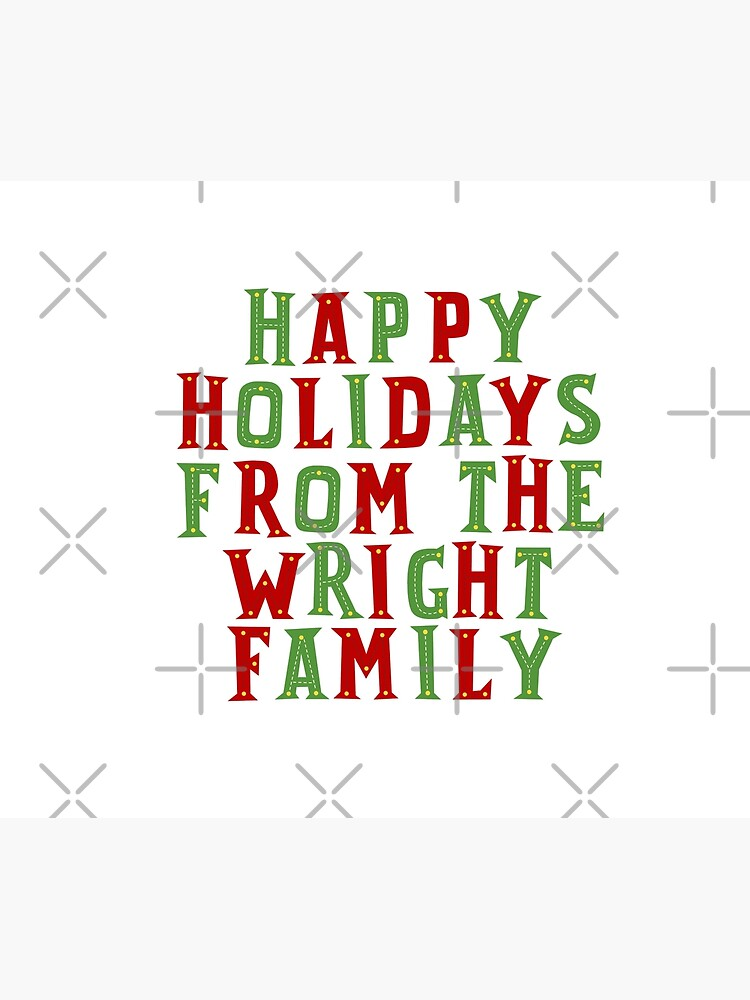 Happy holidays from the Wright family by Urosek