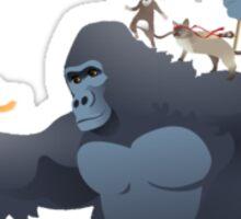 Ninjacat King Kong Gorilla Sticker