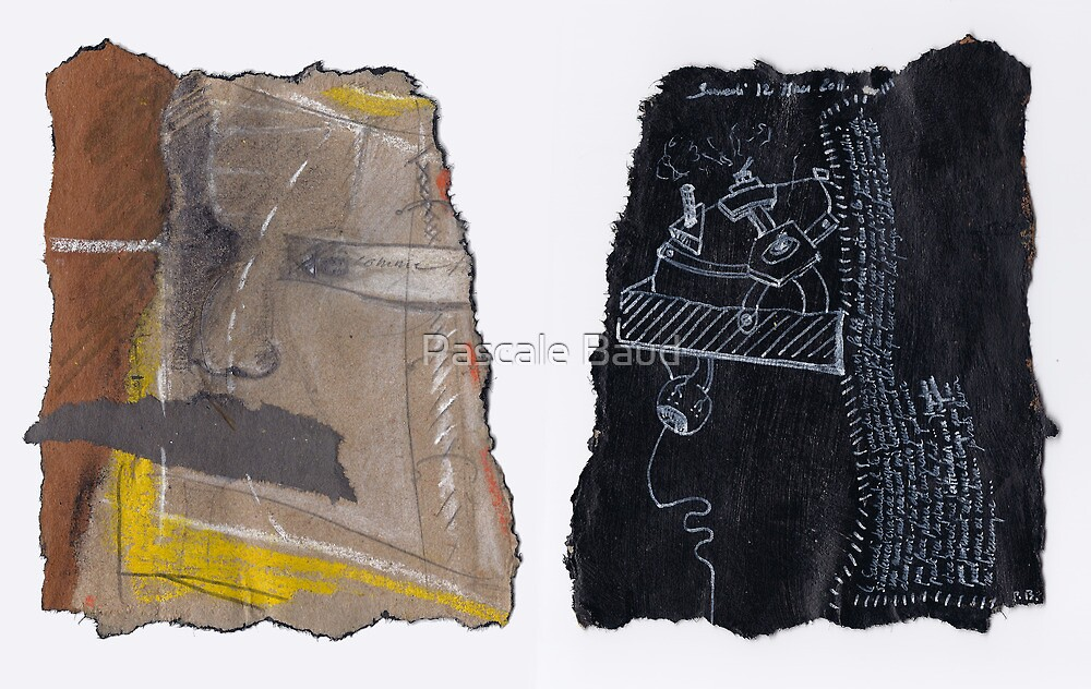 Idées blanches : Double-face n°7 - Recyclage n°7 by Pascale Baud