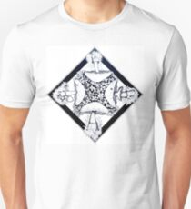 Mushrooms and Clovers Unisex T-Shirt