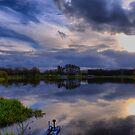 The Fishing Lake #2 by Sandra Cockayne