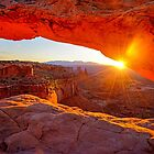 Mesa Arch Sunrise by Harry Oldmeadow