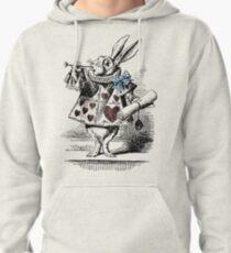 White Rabbit from Alice's Adventures in Wonderland Pullover Hoodie