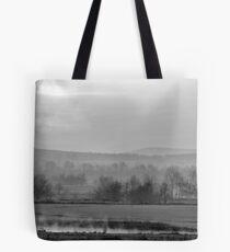 Oklahoma Misty Morning Tote Bag