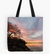 Arkansas River at Sunset Tote Bag