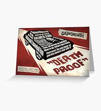 Deathproof redux Greeting Card