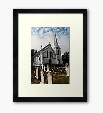 Staying reference Framed Print