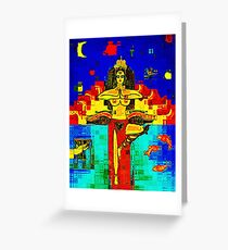 Dharma Greeting Card