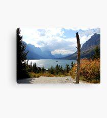 Saint Mary's Lake- Glacier National Park, Montana Canvas Print