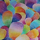 Gradient Balloons  by Michaela Snyder