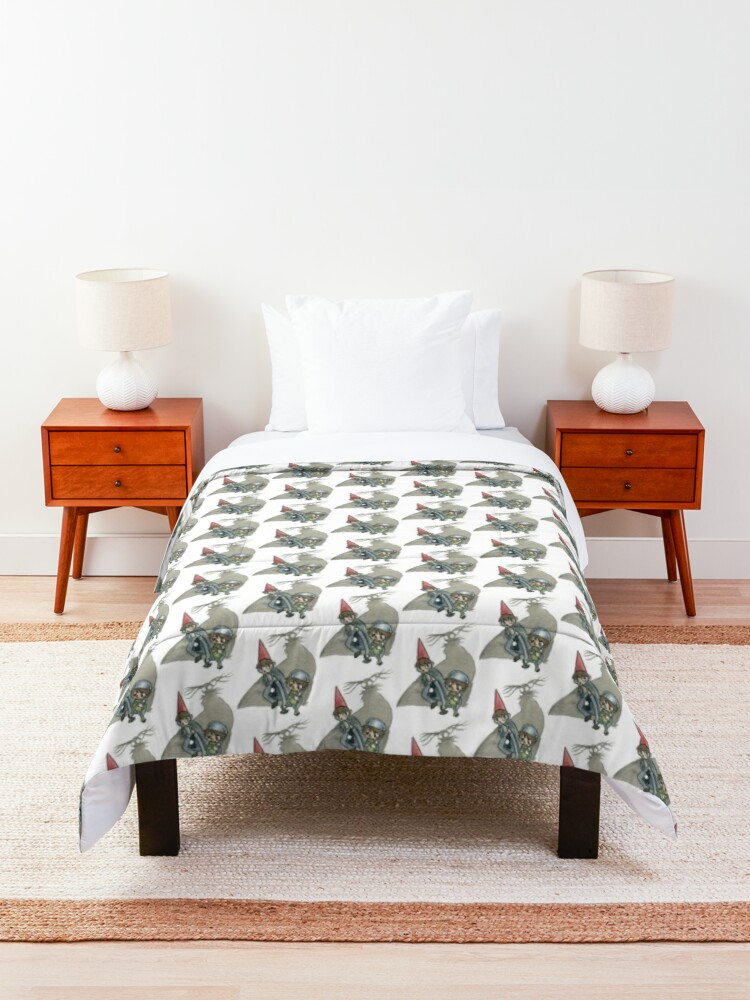 Alternate view of Over the Garden Wall Comforter