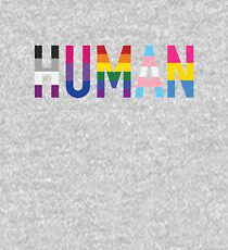Human, Various Queer Flags 1 Kids Pullover Hoodie