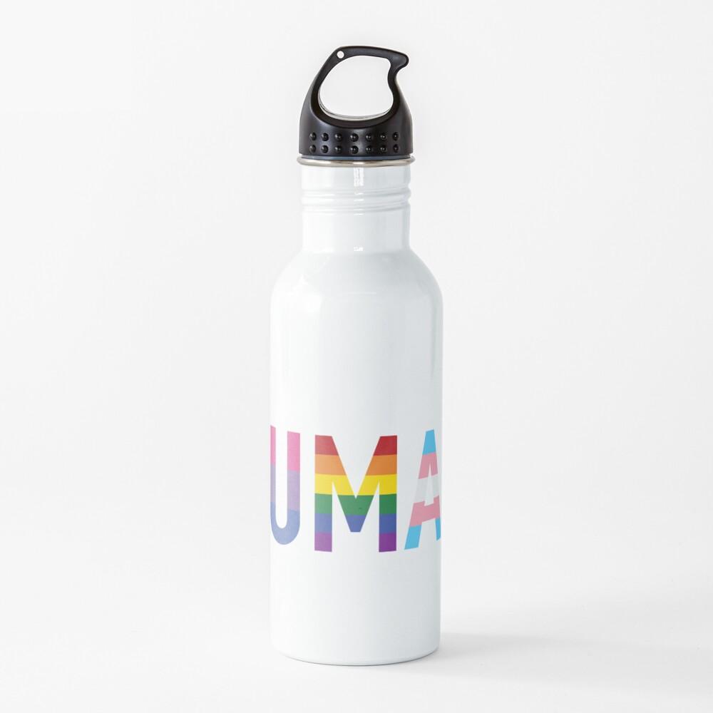 Human, Various Queer Flags 1 Water Bottle