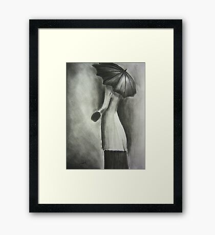 The Waiting One Framed Print