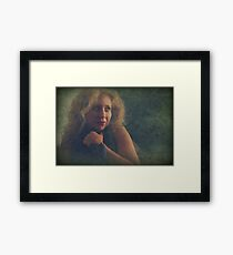 When I Need Protection Framed Print