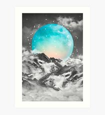 It Seemed To Chase the Darkness Away Art Print