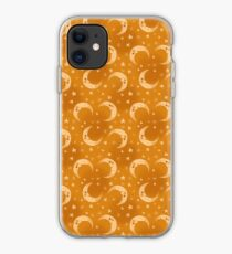 Yellow Moons and Stars iPhone Case
