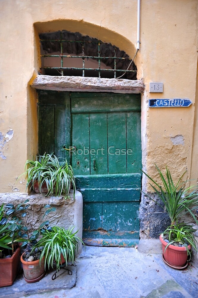 Green Door by Robert Case