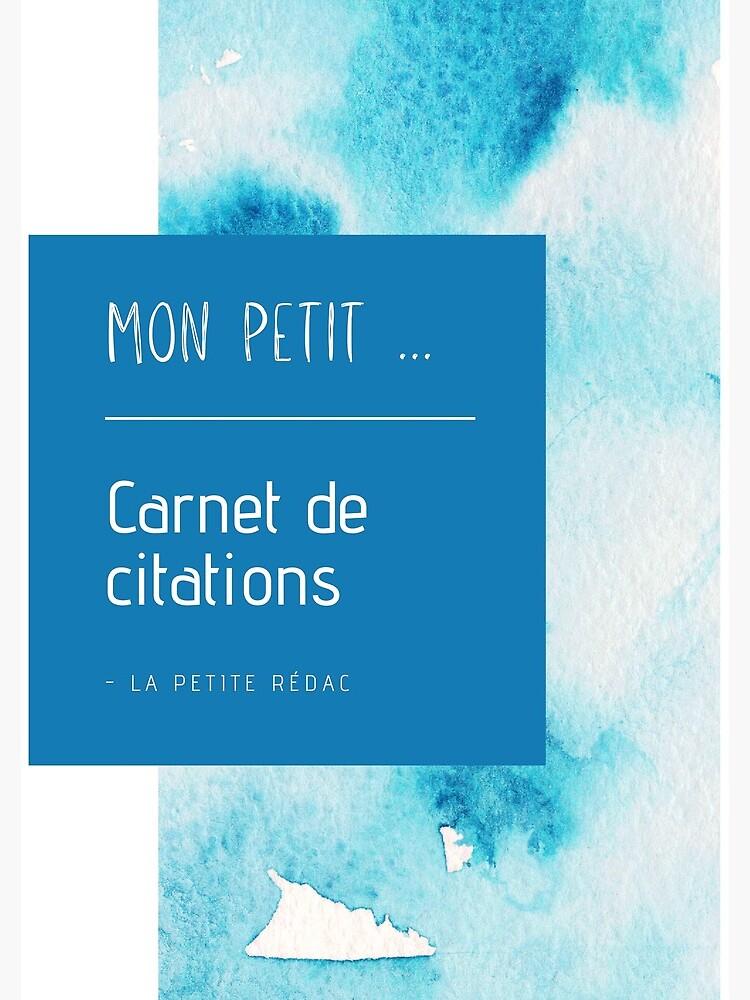 «Carnet de citations» par Lapetiteredac