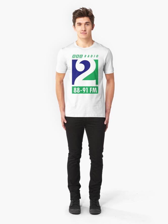 Alternate view of NDVH Radio 2 1995 Slim Fit T-Shirt