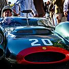 "Red Lipped 1964 Cooper-Maserati T61P ""Monaco"" by MarcW"