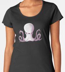 Ghostly Octopus Premium Scoop T-Shirt
