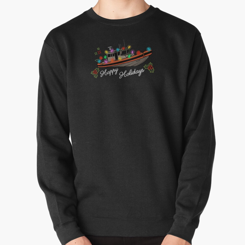 Coast Guard Lighted Boat Parade 33 SPC-LE Pullover Sweatshirt