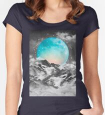 It Seemed To Chase the Darkness Away Women's Fitted Scoop T-Shirt