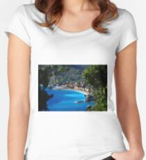 Monterosso al Mare Women's Fitted Scoop T-Shirt