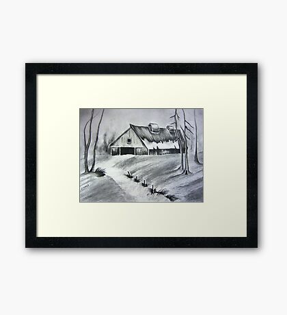 The Old Hay Barn Framed Print